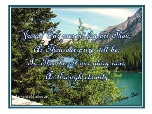 Jesus our present joy