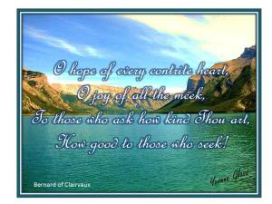 O hope of every contrite heart